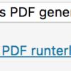 PDF Deaser - neue PDF Datei runterladen